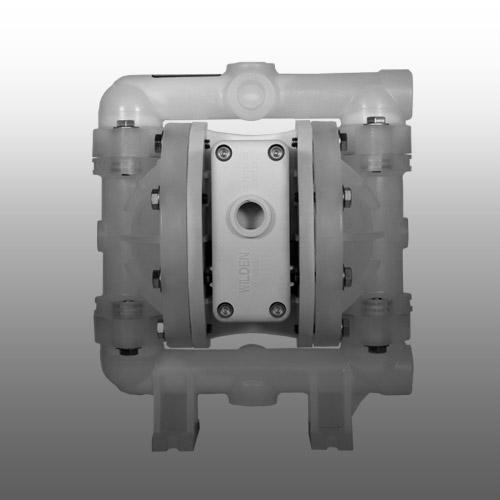 P100 - Wilden pomp - 0.5 inch plastic-bewerkt
